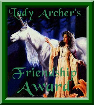 lady archers friendship  award
